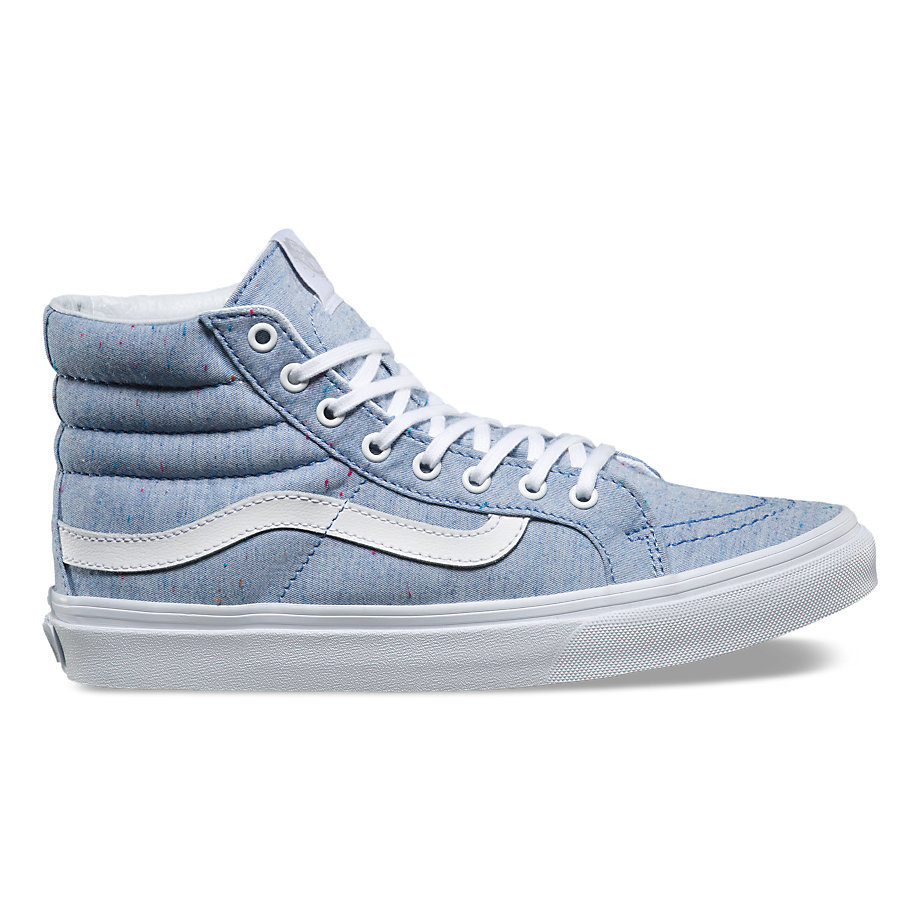 bf44072e85 Sk8-Hi Slim - Speckle Jersey Blue True WhiteWomens - Flying Point Surf