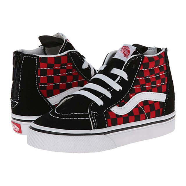 4145d4b3f8 Footwear · Kids · Little Boys · Sk8-Hi Zip Sneakers - (Checkerboard) Black Formula  ...