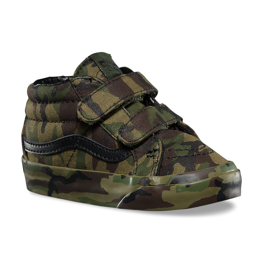 325c21760a7 Sk8-Mid Reissue V Sneaker - (Mono Print) Classic Camo - Flying Point ...