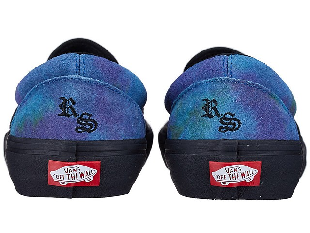 1934f4638616da Vans Slip On Pro Ronnie Sandoval Shoes Northern Lights New