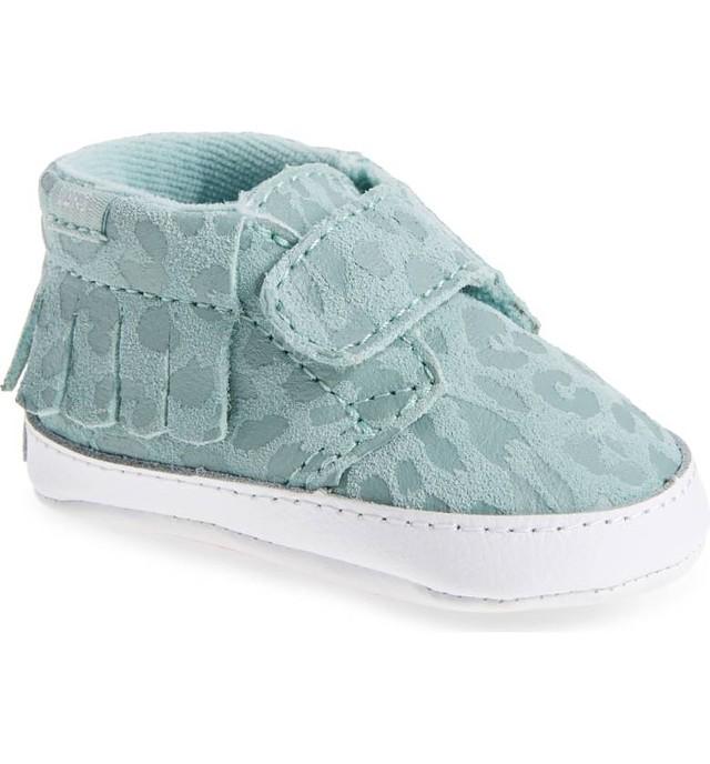 cc5f71407d Details about Vans Toddler Girls Chukka V Moc Sneakers Leopard Harbour Grey  2.5 New