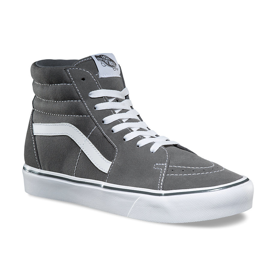 96da816513bf W Sk8-Hi Lite - (Suede Canvas) PewterWomens - Flying Point Surf
