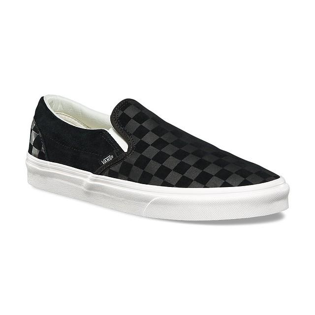 ... Vans Classic Slip-On (Checker Emboss) Black Marshmallow 856190012