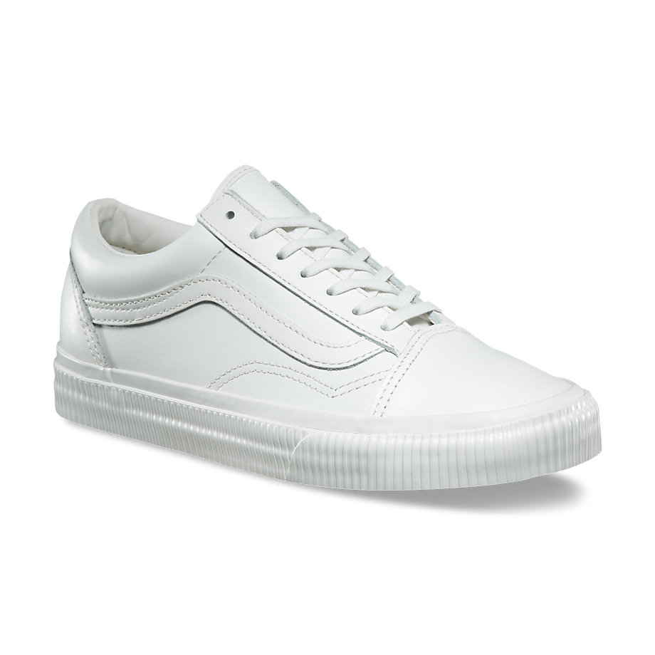 Footwear  Womens  Sneakers  Womens Old Skool  Embossed Sidewall Blanc de Blanc
