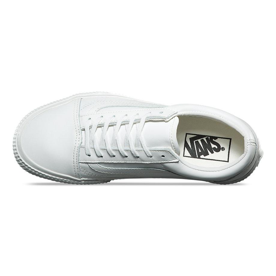 Camionnettes Vieilles Chaussures De Skate Skool - (flanc En Relief) Noir PXb6LiaG