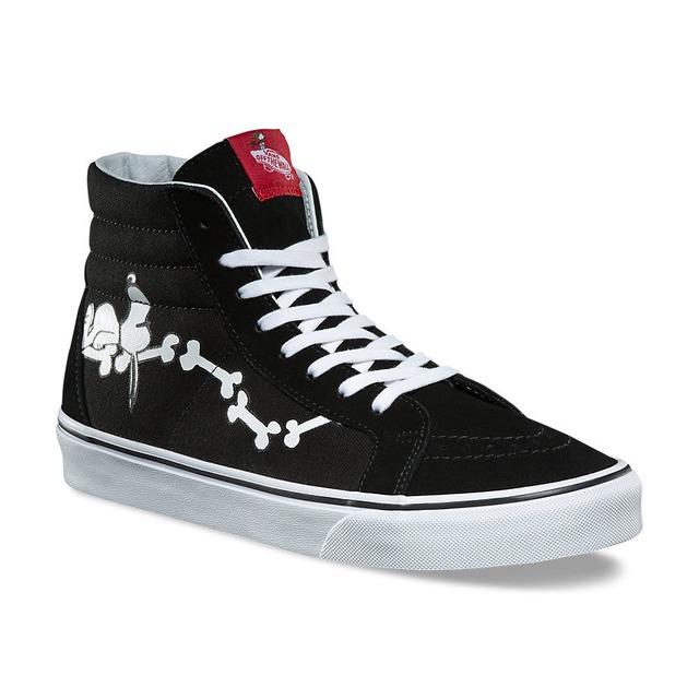 1bf911705c  75.00 48.75 ·  p Vans Womens Sk8-Hi Reissue Snoopy Bones  ...