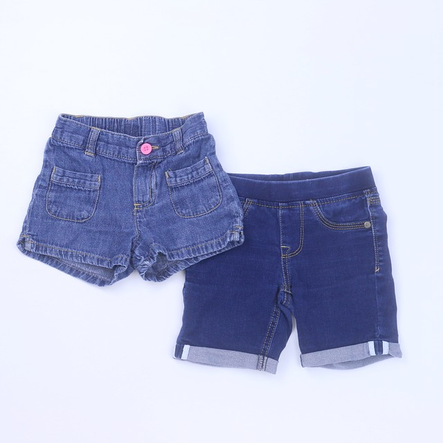 <h1>Set of 2 Shorts</h1> <h2>size: 4T</h2>