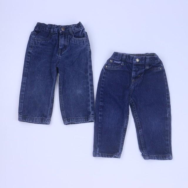 ee62e9043c6a5 Wrangler | Nautica Set of 2 Blue Jeans 18 Months