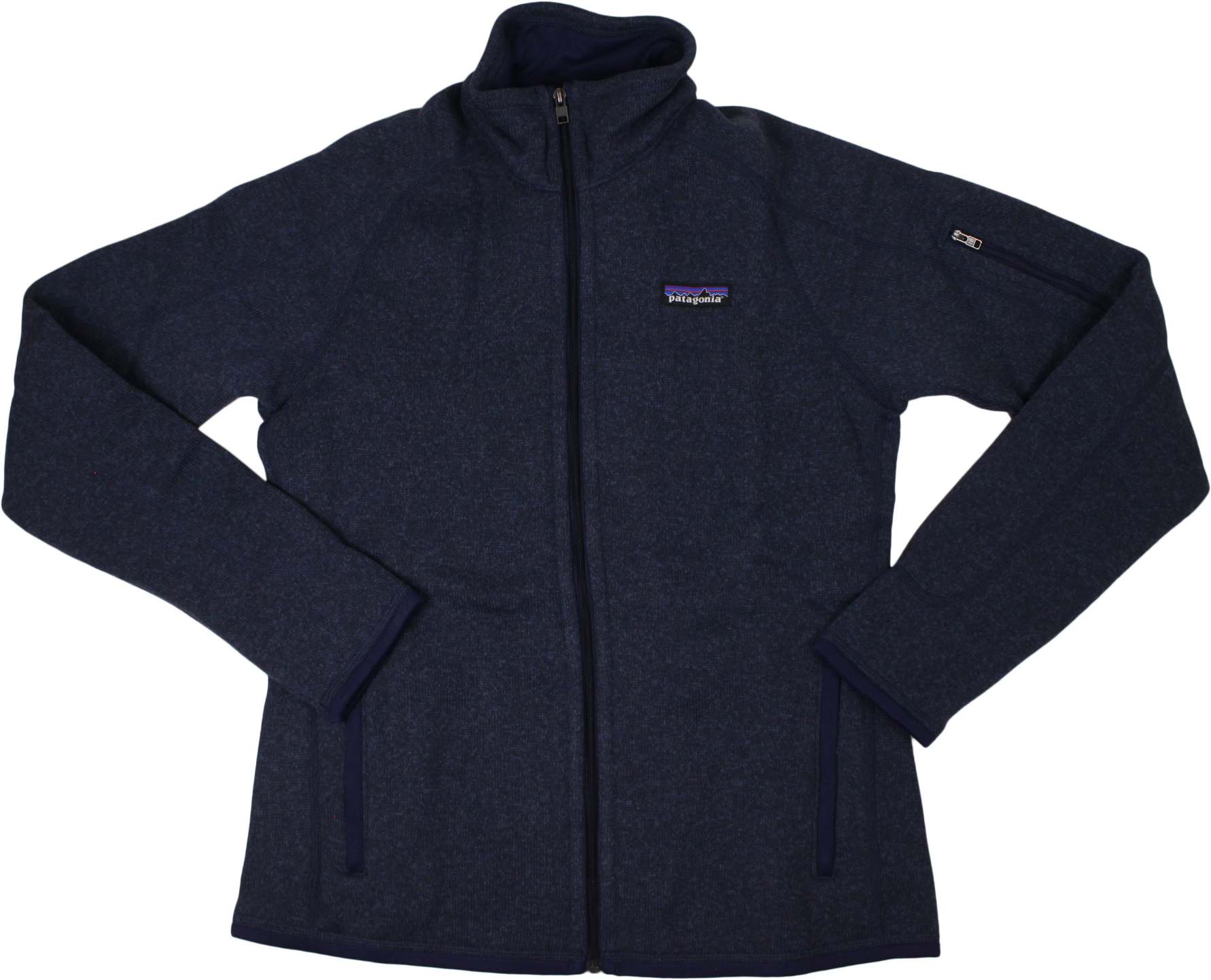 W's Better Sweater Full Zip - Classic NavyWomens - Flying Point Surf