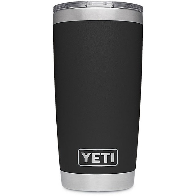 Yeti Rambler w/ MS Slid Black