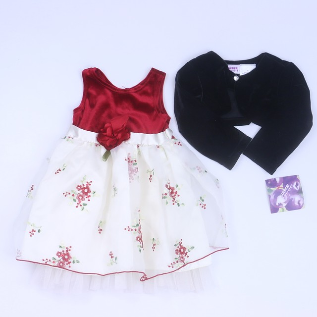 3fb121eb641fa Youngland | Blueberi Boulevard 2-pieces Red | Black Special Occasion Dress  2T