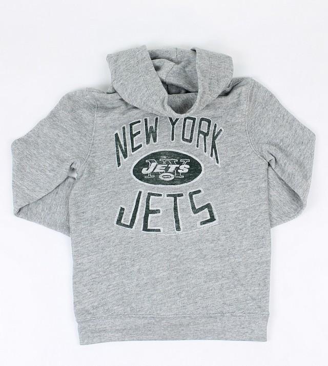 3b3aff5e Junk Food Youth Boys NFL NY Jets Full Zip Fleece Hoodie Sweatshirt ...