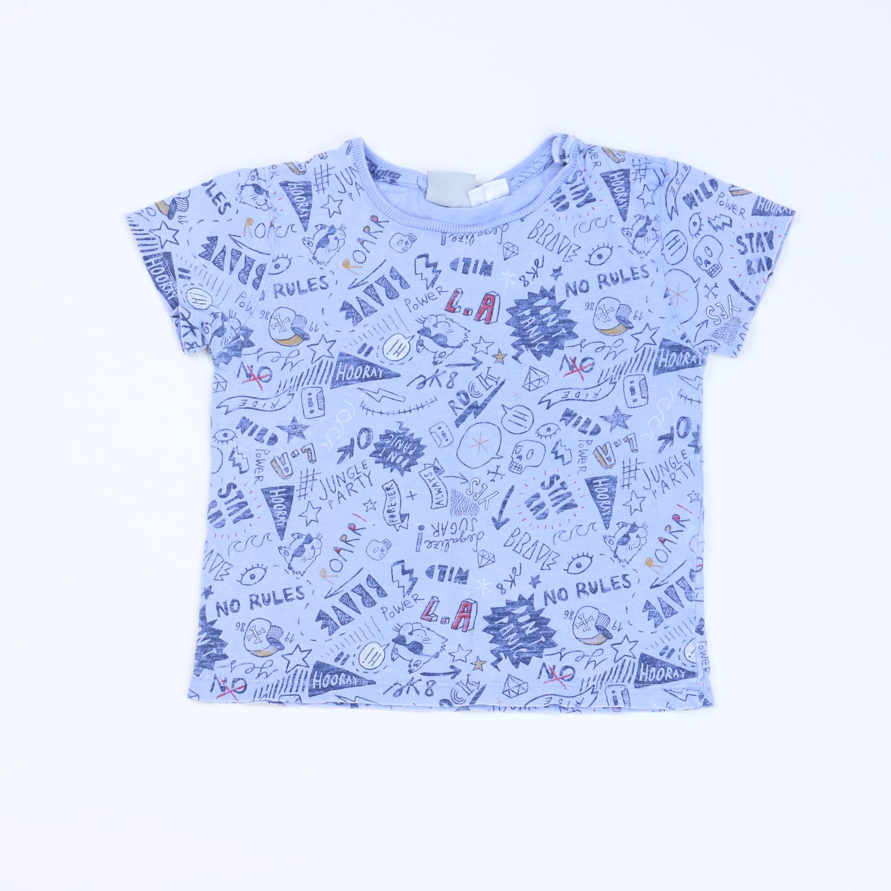ce866082 Light Blue Blouse Zara