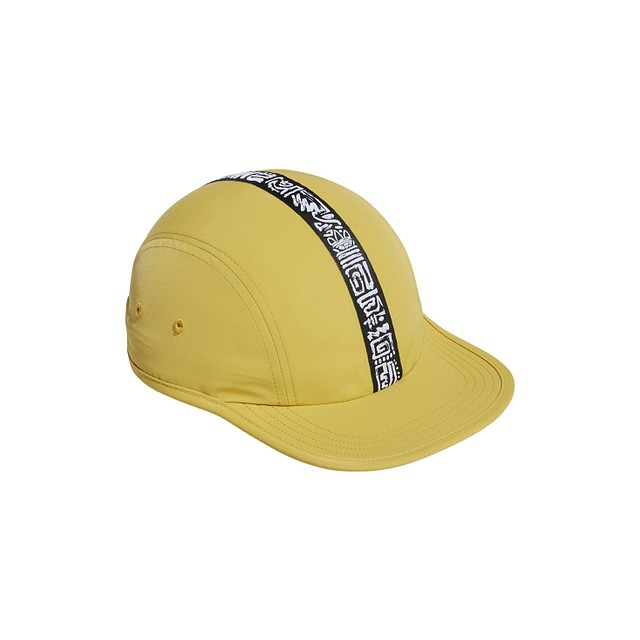 6c0d05cdb2b $28.00; <p>adidas Three 4 Panel Pyrite ...