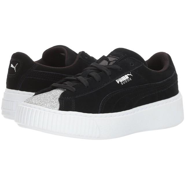 best service deb0f 6cf4d Puma Suede Platform Glam Jr Sneakers Gray - FashiON7