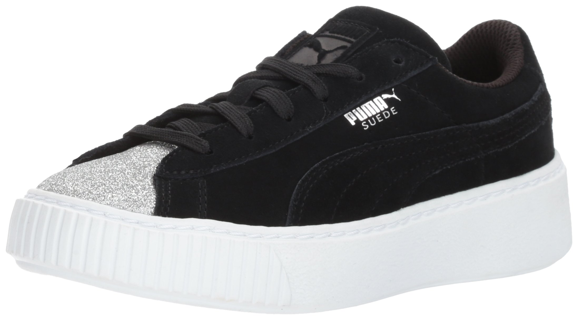 best service 9c14f 1ee49 Puma Suede Platform Glam Jr Sneakers Gray - FashiON7