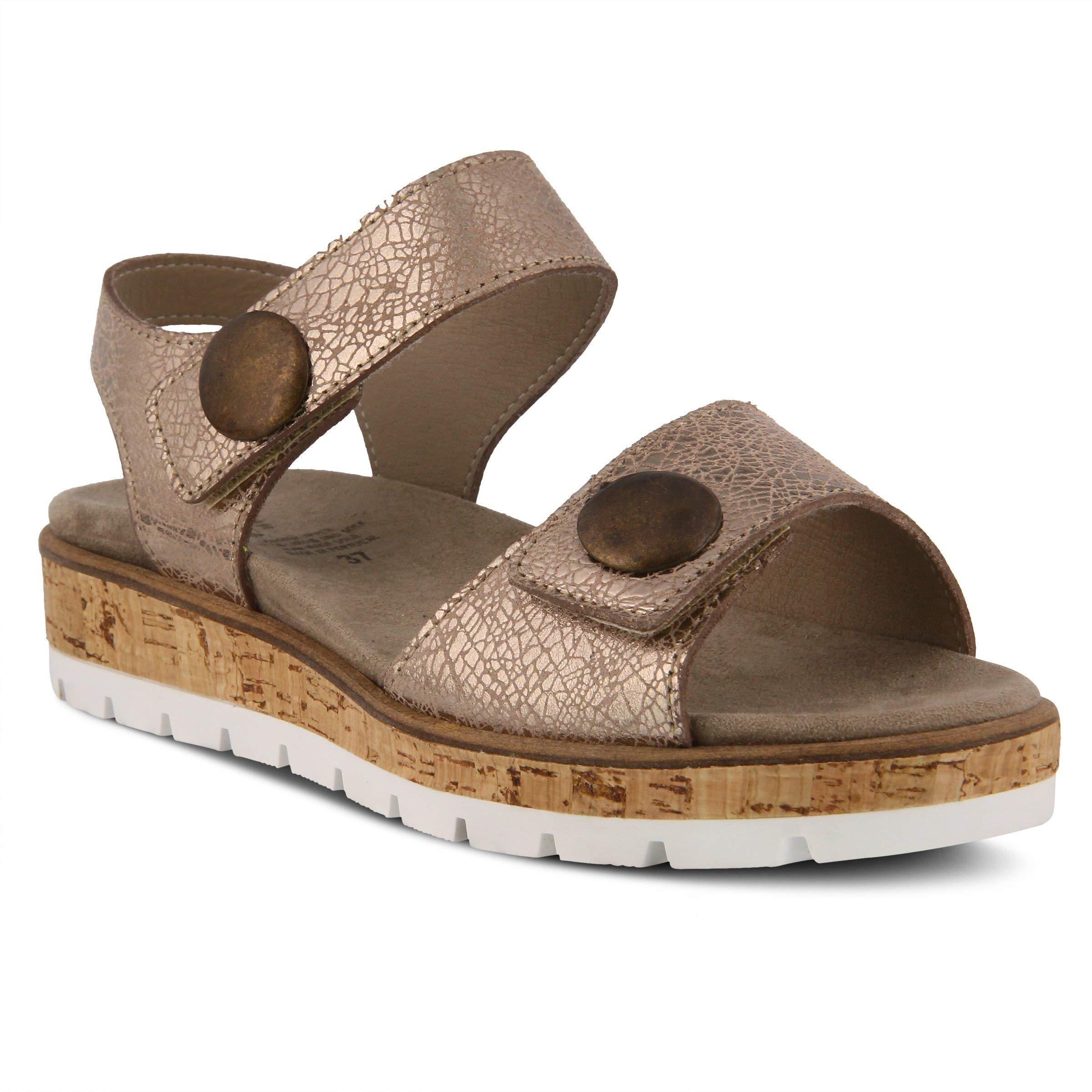 Spring Step Reesalie Sandals Bronze New